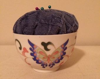 Tea Cup Pincushion