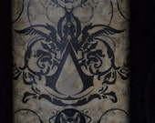 Assassins Creed, Bioshock and Geekboy 8oz - Stanless Steel Flask