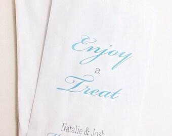 ON SALE Candy Buffet Bags, Wedding Candy Buffet Bags, Wedding Favors