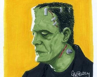 The Frankenstein Monster (2016)