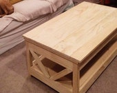 Lift Top Coffee Table for SD
