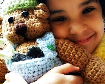 Aromatherapy AromaLove© Boy Bear with Ball Cap