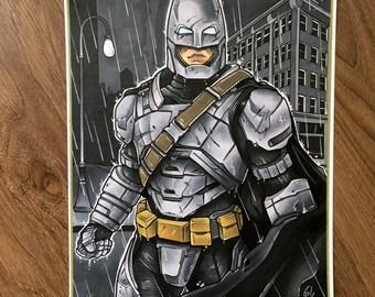 Armored Batman Print