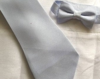 Men's Linen Ties, Bow ties, Father and Son Matching Ties and Bow Ties   #BS48