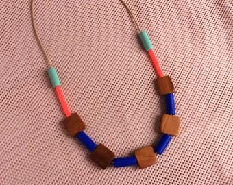 Big Block Necklace