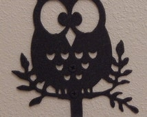 Owl wall hook,owl decor,owl gift,metal art,owl wall art,owl silhouette,owl, great item for any room in the house,made in the USA,on route 66
