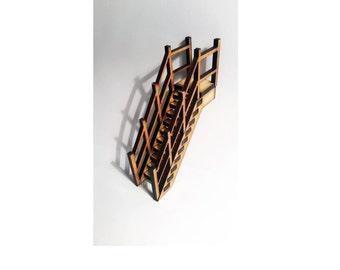Fairy Door Ladder Elf Wooden Laser Cut Fairies Pixies Handmade