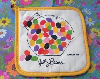 Super Cute 1981 Vintage Magla Potholder - Jelly Beans
