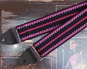 Handwoven Guitar Strap - Comfortable Cotton Guitar Strap-  Instrument Strap - Banjo Strap