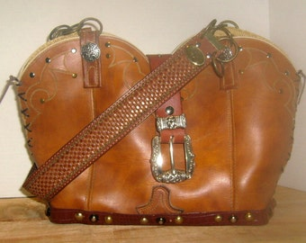 Cowboy Boot Purse DB04