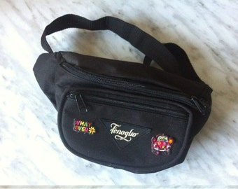 Vintage Canvas Waist Bag Fanny Pack Bum Bag Hip Bag Fenoglio  made in China