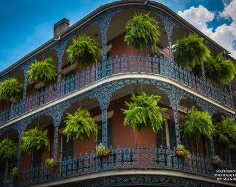New Orleans Print, French Quarter Art, City Photography, Urban Artwork, New Orleans Art, New Orleans Photo, Architecture Photo, City Prints