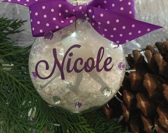 Field Hockey Ornament, Personalized