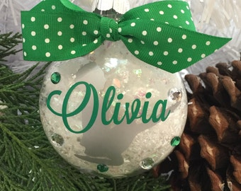 Irish Dance Feis Ornament, Gift for Dancer, Personalized