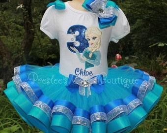 Elsa birthday outfit Etsy