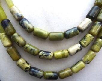 Multi-stranded gemstone necklace