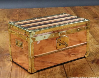 2016 Small trunk in copper and brass