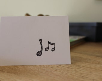Music Note Mini Stationery!