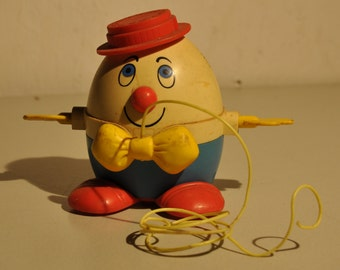 "Vintage Toy Fisher Price ""Humpty Dumpty"" #736"