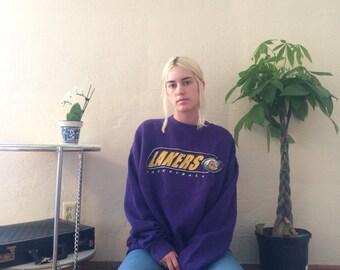 Vintage Lakers Sweatshirt