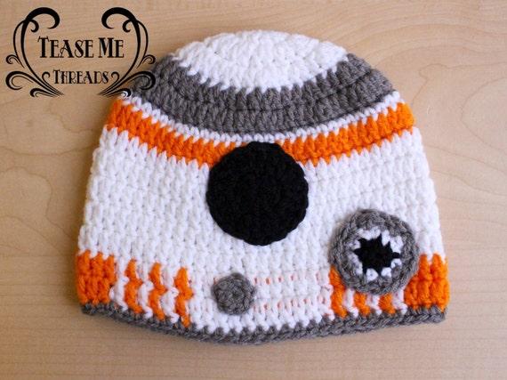 Free Star Wars Bb 8 Crochet Pattern : Star Wars BB8 Crochet Hat_