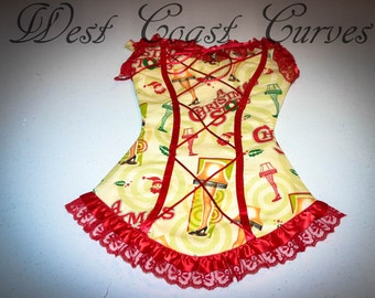 A Christmas Story Corset Stocking