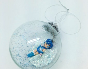 Sailor Mercury Bubble Ornament