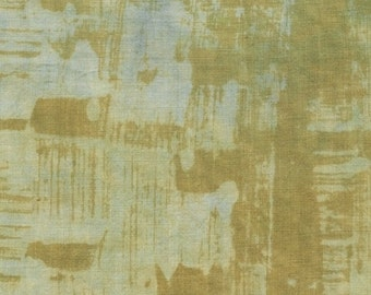 NEW Marcia Derse Studio Alphabet Rabbit Grey Gray Tan Gold fabric BTY