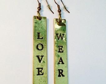 Love wear earrings