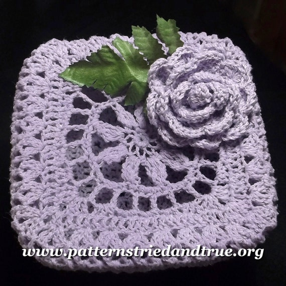 Crochet Pattern for Box with lid for Trinkets, Jewelry, Candy,  perfect handmade gift you for your Mom/ Grandma. Make them feel special!