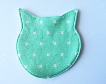 Ooak Mermaid Lined Menstrual Cup Pouch By Lucyandmabs On Etsy