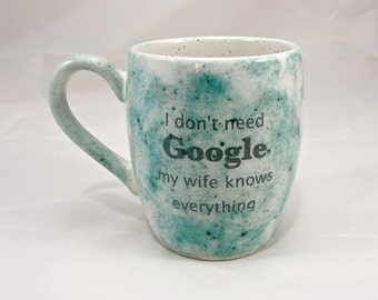 Google mug coffee mug tea mug , mug for gift