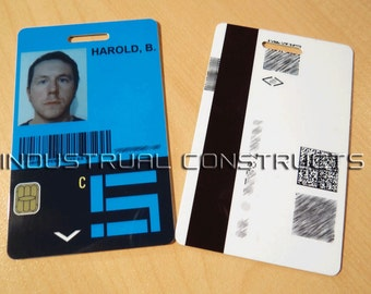 Maze Runner Scorch Trials Reproduction ID Card / Badge - Cosplay / Collectible