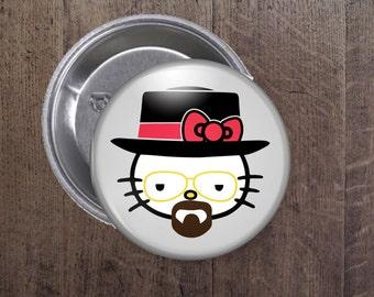 Heisenberg Kitty button