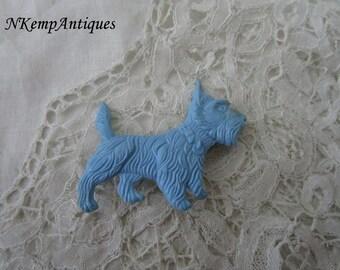 1930's scotty dog brooch /scottie