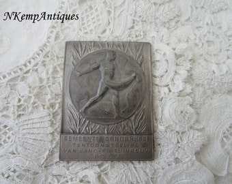 Vintage plaque