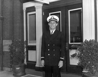 Ensign JFK, John F. Kennedy, US Navy, President Kennedy -Photo Print