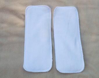 Two Cloth Diaper Inserts - Microfiber
