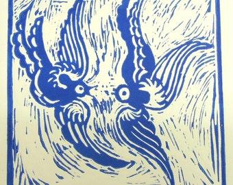 Willow Bird Blue