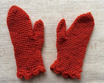 Antique Doll Mittens