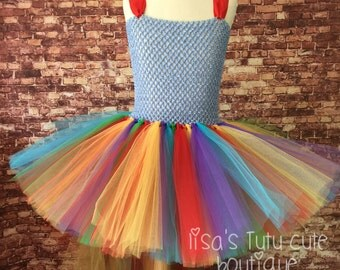 Rainbow dash, rainbow dash party, rainbow dash tutu, rainbow dash birthday, rainbow dash costume, rainbow dash dress, my little pony tutu