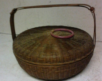Chinese sewing basket