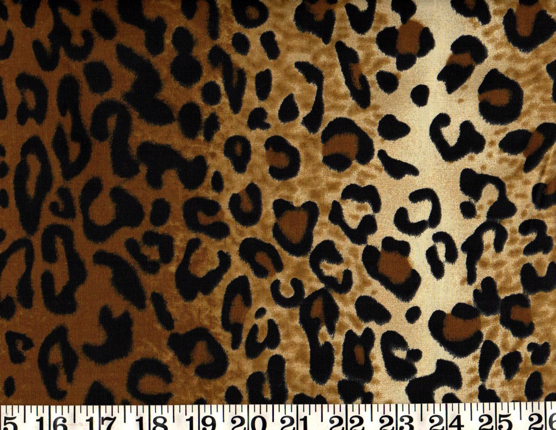 Animal print cotton fabric animal skin print by the yard for Cotton fabric by the yard