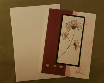 Just A Note Greetings Cards