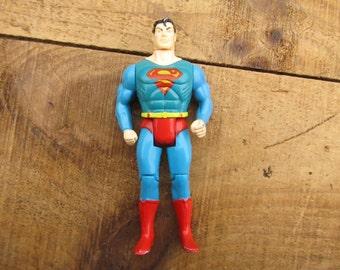 Vintage 1989 Superman Action Figure  - 1980's DC Comics Action Hero