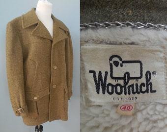 Vintage men's WOOLRICH wool COAT size 40