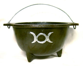 Large Triple Moon Cauldron