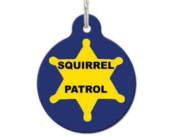 Squirrel Patrol Pet ID Tag | FREE Personalization