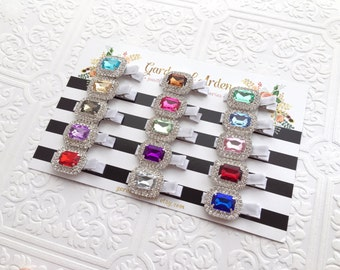 The Crown Jewels Clip- Your Color Choice