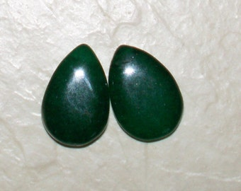 NEW.. Natural Emerald Gemstone Teardrops
